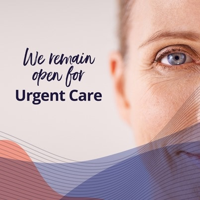 Open for urgent care